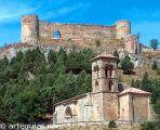 Iglesia de Santa Cecilia y el Castillo