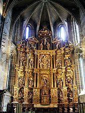 Retablo Colegiata San Miguel Arcángel