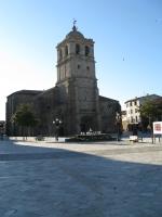 Colegiata y plaza-