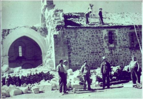 Ermita vieja Virgen de Llano