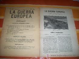 Primera Guerra Europea..