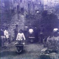 Obras reconstrucción Monasterio