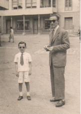 Asperino con su hijo Javier