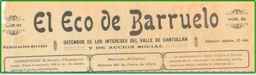 El Eco de Barruelo - Cabecera