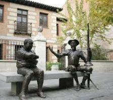 Figuras de Don Quijote y Sancho