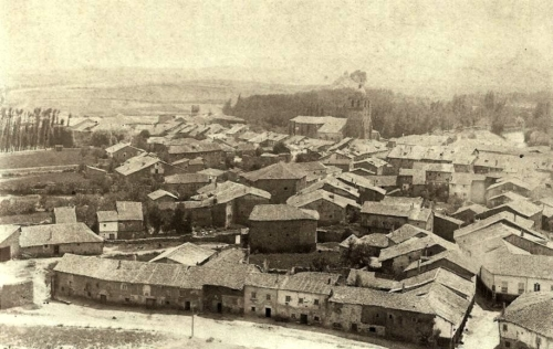 Aguilar desde el Castillo-1869