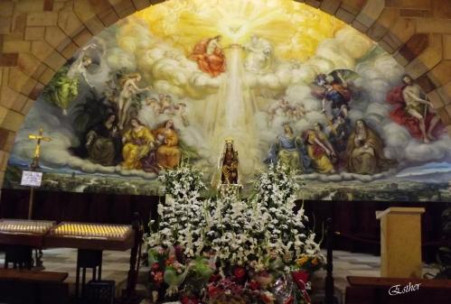 Virgen de Llano - En la Ermita