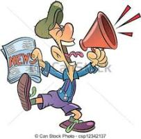Repartidor de periódicos,.-
