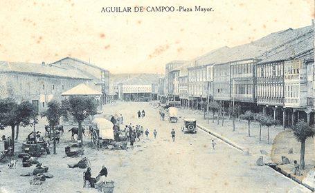 Plaza Mayor Año 1921