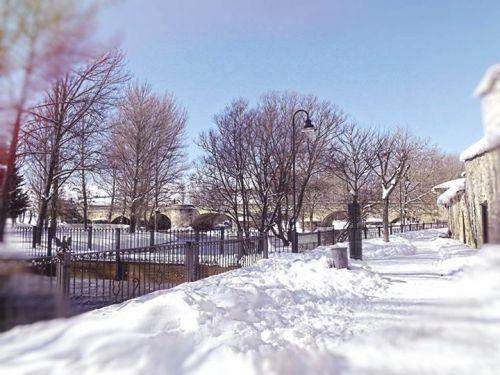 La Cascajera nevada