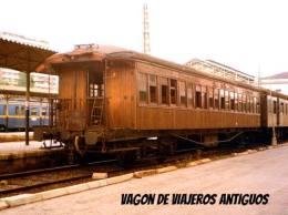 Vagón de viajero antiguo