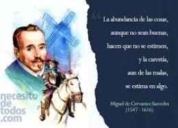 Miguel de Cervantes...