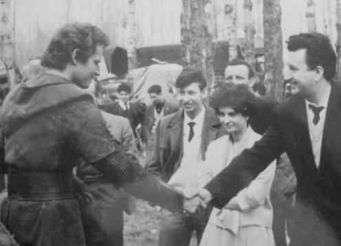 El Cid con Nito, Carlos y Mari Carmen Fontaneda