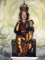 Virgen de LLano Talla Románica. Siglo XIII.