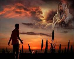 Hombre orando.