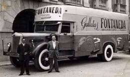 Camión Galletas Fontaneda