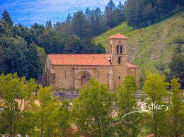 Iglesia románica de Santa Cecilia - Fotografía de Esther Fuente