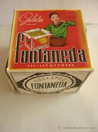 Caja Galletas FONTANEDA